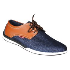 Jual Andretelli Men Elliot Casual Shoes Navy Prada Lengkap