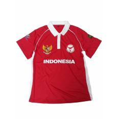 Andri Collection - Seragam Team Nas Indonesia Cricket No Punggung 27 - Merah
