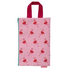 Aneh Tapi Lucu Hidup Ipad Tas Kartun Kosmetik Tas Tas Tangan (Gambar Sisipan Tas-Merah Muda Warna)