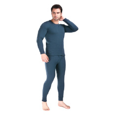 Harga Anekaimportdotcom Baju Musim Dingin Longjohn Pria Abu Abu Tua Yang Murah
