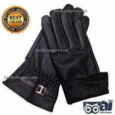 Promo Anekaimportdotcom Sarung Tangan Kulit Musim Dingin Wanita Winter Gloves Woman