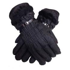 Spesifikasi Anekaimportdotcom Sarung Tangan Musim Dingin Parasut Winter Gloves Hitam Murah Berkualitas