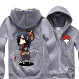Beli Anime Naruto Sasuke Hoodie Cosplay Sweatshirt Katun Jaket Mantel Kostum Tops Sweater Pria Wanita Abu Abu Intl Online