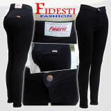 Beli Ank Celana Jeans Panjang Wanita High Waist Soft Jeans Murah Indonesia