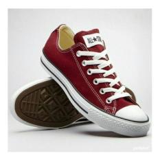 Spesifikasi Ank Sepatu All Star Marun Premium Merk Shoes