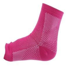 Ankle Sprain Joint Perawatan Protector Kaus Kaki Elastis (Merah) (Jual Dalam 1 Pc)-Intl(Magentae)
