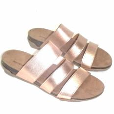 Beli Anneliese Sandal Flat Wanita Maria 3 Rose Gold Online Jawa Barat