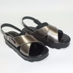 Harga Anneliese Sandal Wedges Wanita Bella Grey Yang Bagus