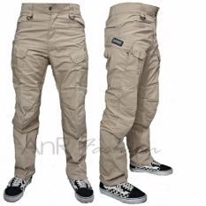 AnR Celana Panjang Pria Tactical Army BlackHawk - Cream