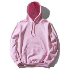 Jual Anti Social Club Men Sweatshirts Autumn Fashion Hooded Hip Hop Style Streetwear Tracksuit Hoodies Pink Intl Online
