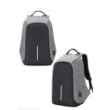 Ulasan Lengkap Tentang Anti Theft Travel Backpack Pria Dan Wanita Kapasitas Besar Tahan Air Nylon Tas Komputer Usb Pengisian Shoulder Bag Mahasiswa Bag Grey Intl