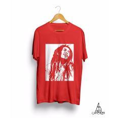 Antihero Baju Kaos Distro Musik Bob Marley Reggae - MERAH