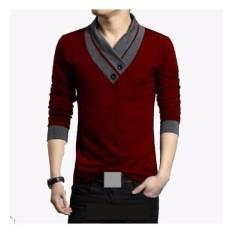 Anvi Baju Pria Victor / Kaos Korea / Lengan Panjang / Lengan Pendek / Baju Santai Pria