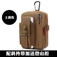 Aolv Pria Multifungsi Tas Bahu Dengan Satu Tali Tas HP Tas Pinggang (