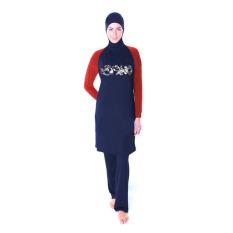 Jual Aooluo 2016 Summer New Fashion Islam Ladies Beach Swimsuit Merah Baru