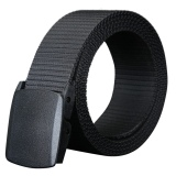 Toko Aoxinda Pria Fashion Plastik Buckle Casual Sport Canvas Belt 115 Cm Hitam Intl Oem Online