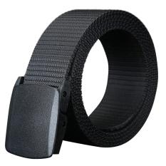 Beli Aoxinda Pria Fashion Plastik Buckle Casual Sport Canvas Belt 115 Cm Hitam Intl Oem Online