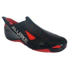 AP Boots Sepatu Allbike Cycling Shoes - Black Red f867e1b180