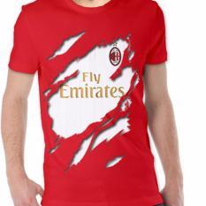 Ulasan Apparel Glory Kaos 3D Ac Milan Jersey Away Merah