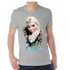 Apparel Glory Kaos 3D Elsa Frozen Abu Misty