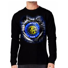 Apparel Glory Kaos 3D INTER SUPER Lengan Panjang Hitam