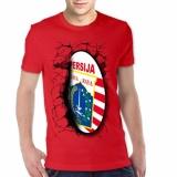 Jual Apparel Glory Kaos 3D Persija Elegant Merah Branded Original