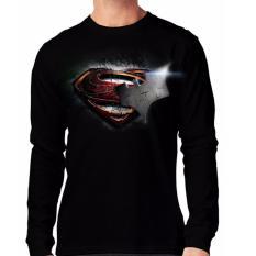 Apparel Glory Kaos 3D SUPERMAN VS BATMAN 3 LP - Hitam