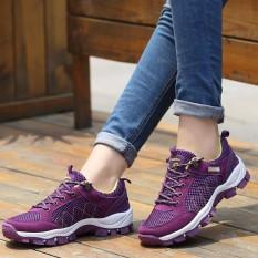 Sepatu Basah Ultra Ringan Cepat Kering Air Sungai Berjalan Musim Panas Wanita Sneaker Menyerap Keringat Outdoor Sepatu Mendaki Wanita-Intl