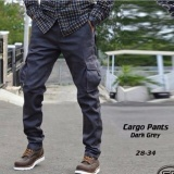 Jual Arc Celana Cargo Dark Grey Branded Original