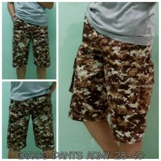 Arc Celana Cargo Pendek Army Cokelat - Brown Army