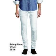 Arc Celana Skinny Jeans Putih - White