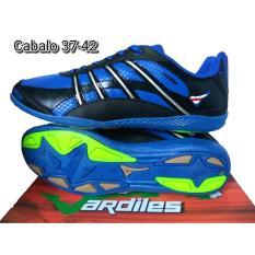 Ardiles Cabalo Black Blue - Sepatu Futsal - Sepatu Olahraga - Sepatu Pria - Sepatu Murah