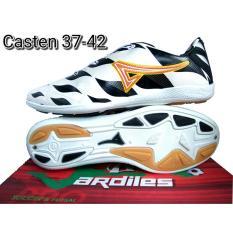 Ardiles Casten Black White-Sepatu Futsal Pria - Sepatu Futsal