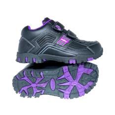 Ardiles CM Wiggle Black Purple - Sepatu Sekolah - Sepatu anak - Sepatu Murah