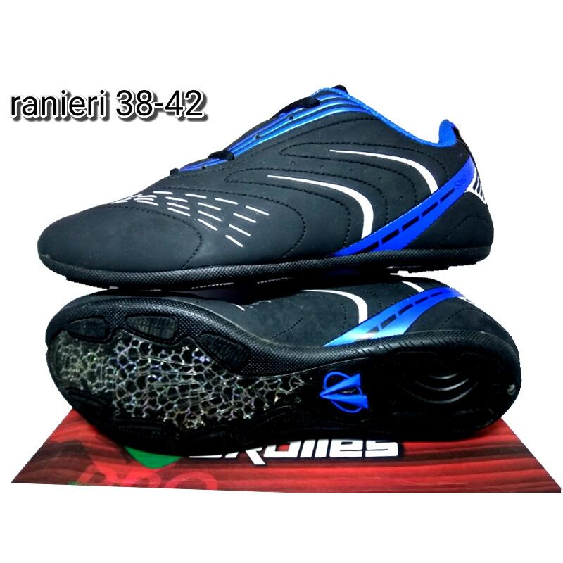 Ardiles Ranieri Black blue - Sepatu Sepak Bola - Sepatu Olahraga Pria -  Sepatu Murah 9be0b0561f