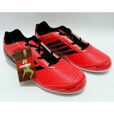 Spesifikasi Ardiles Sepatu Futsal Pria Wanita Merah Hitam Baru