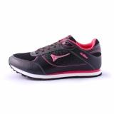 Harga Ardiles Women Lancia Running Shoes Hitam Merah Fushia Original