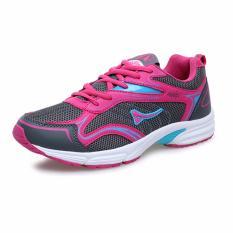 Toko Ardiles Women Malvava Running Shoes Abu Tua Merah Muda Ardiles Online