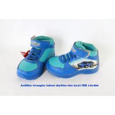 ardiles wrangler sepatu kets anak laki biru
