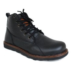 Review Arfu Shoes Boots Mens Black Di Indonesia