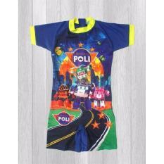 Beli Ariza Sport Baju Renang Anak Diving Biru Hijau Online Indonesia