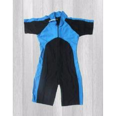 Harga Ariza Sport Baju Renang Anak Unisex Diving Import Hitam Biru Lokal Brand Ori