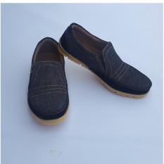 Beli Arjun Sepatu Kasual Elegan Good Quality Dark Denim Murah Jawa Timur