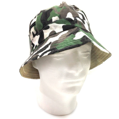 Armor Military Topi Hat Rimba Sleting Outdoor - Loreng Hijau