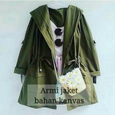 Spesifikasi Army Jaket Jaket Wanita Cardigan Murah Jaket Cewek Outer Murah Berkualitas
