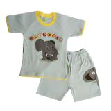 Toko Arrow Apple Kids Kids Pajamas Piyama Anak Jungle Elephant Biru Muda 1 Set Online