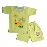 Jual Arrow Apple Kids Kids Pajamas Piyama Anak Jungle Giraffe Green 1 Set Arrow Apple Kids Branded