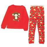 Beli Arrow Apple Kids Kids Pajamas Piyama Anak Lgn Panjang Red Monkey Pake Kartu Kredit