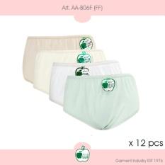 Arrow Apple - Lusinan - Celana Dalam Wanita - FF - 12 Pcs
