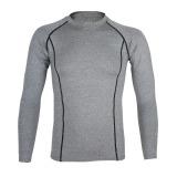 Jual Arsuxeo Bersepeda Olahraga Lari Sepeda Kebugaran Baselayer Lengan Baju Jersey Celana Panjang Kemeja Pria Cepat Kering Termurah